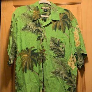 Short sleeve button up shirt